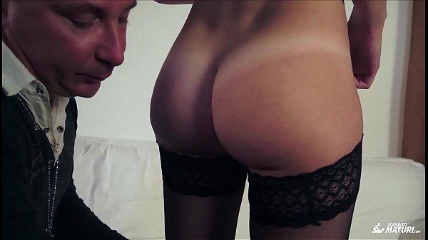 SCAMBISTI MATURI - Italian amateur rides cock in steamy hardcore sex session Thumb