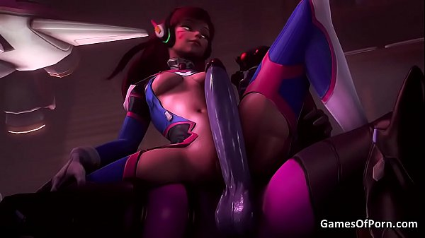 Overwatch Futa Widowmaker Fucks D.va Thumb