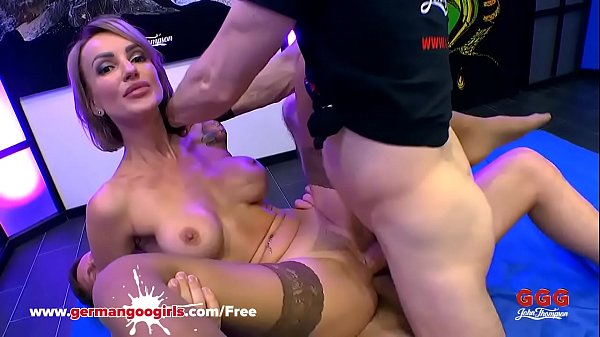 Super Hot Babe Elen Million Double Penetrated by Monster Cocks - German Goo Girls