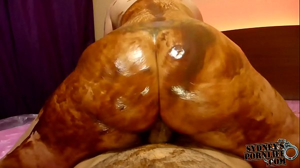 Huge Booty Covered in Chocolate WAM Sex!