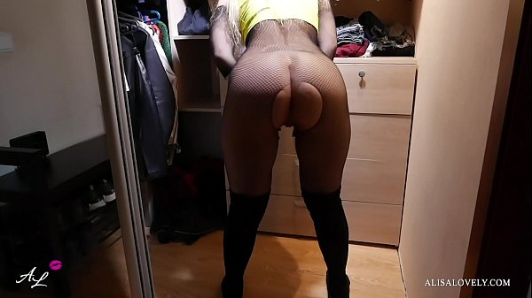 Amateur Sex with a Depraved Neighbor - Fucked Right in the Dressing Room Thumb