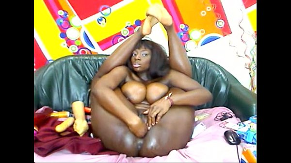 Big Boobs ebony girl anal dildo webcam, More at...