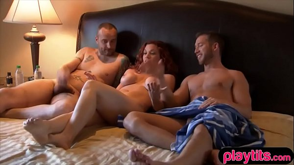 amateur wife tries threesome