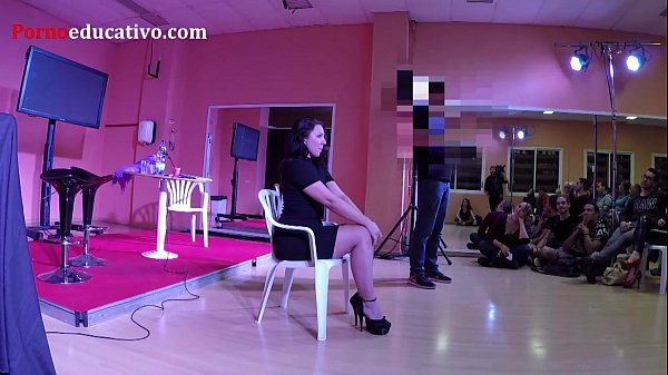 Master class de squirting con Pamela Sanchez