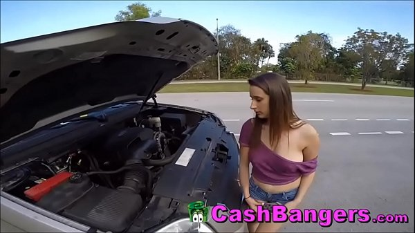 Stranded Big Tits Teen Takes Cash For Sex Favors
