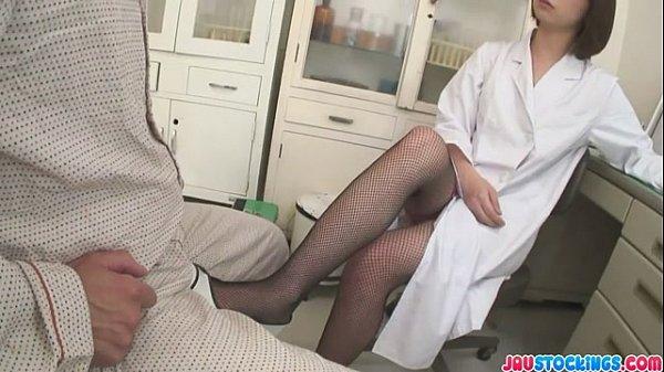 Kaoru Natsuki Fucks In Glasses And Stockings