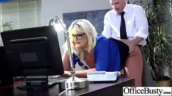 Office Busty Girl (julie cash) Get Hard Style Banged clip-18