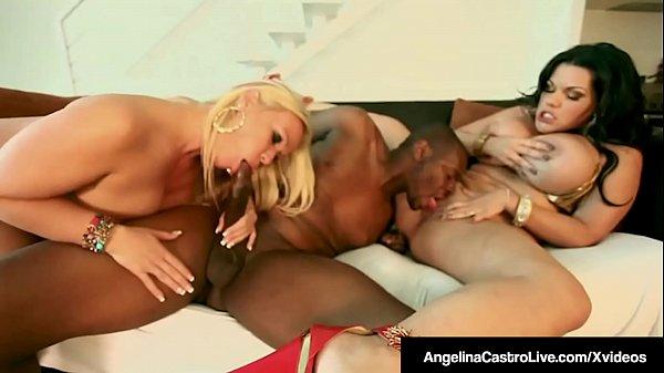 Tube Title:   BBW Angelina Castro & Austin Taylor Bang A Big Black Cock!