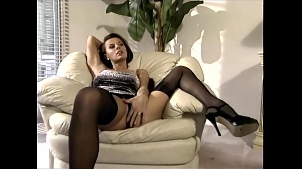 MILF having sex in sheer nylons and a garter belt Thumb