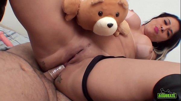 Binho Ted fucking the tail of Soraya Carioca in Pov