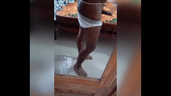 Kerala mallu boy masturbation big cock.... aranjaanam ..waist chain
