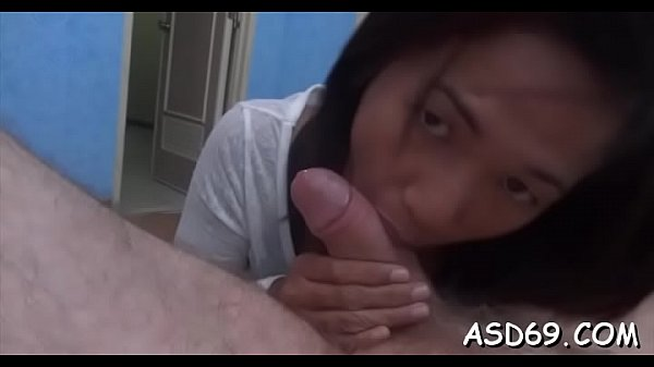 Perverted oriental girl with adorable body curves plays hot games Thumb