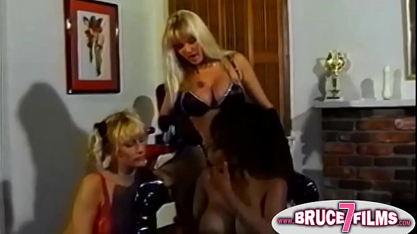 3 Hardcore Lesbians in b. Hot Domination Play