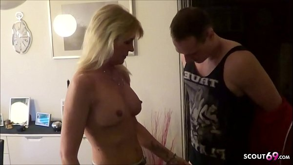 German Mom tricked Step Son to Fuck when Husband on work Thumb