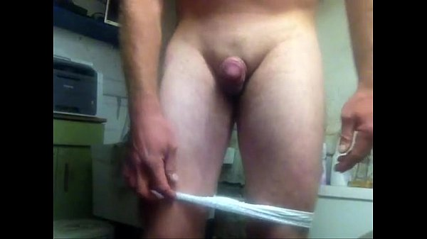 tiny dick guy puts on a strip show