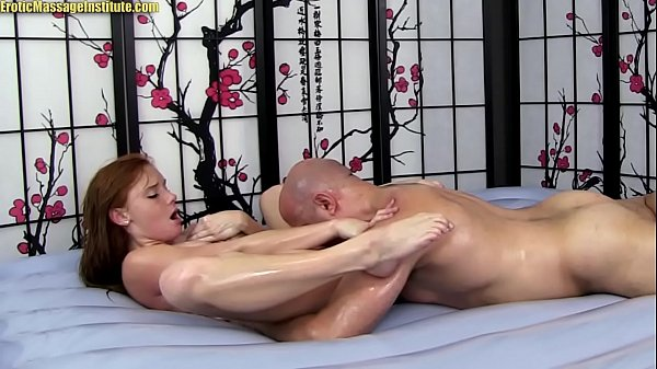 Alex Tanner Gives Sensual Erotic Massage   Sex and BJ! Thumb