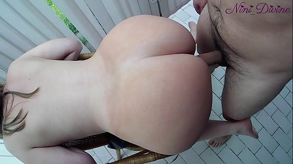 He cums twice on my huge ass! French Amateur Couple! Thumb