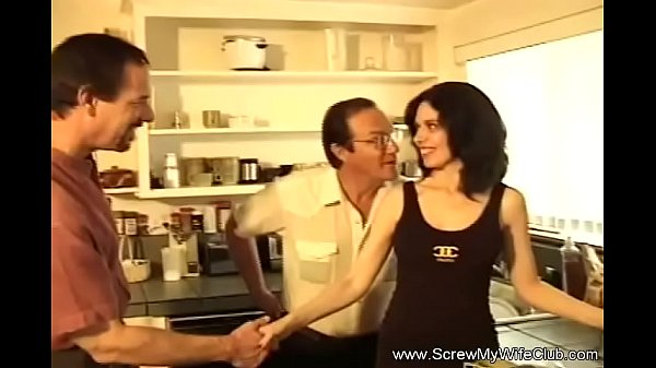Swinger Brunette Fucks In Front Of Husband