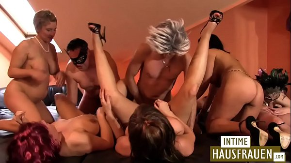 Swinger party at home