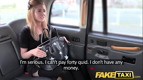 Fake Taxi Petite blonde in pull up stockings Thumb