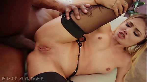 EvilAngel – Gorgeous Adria Rae Squeals From BBC Anal