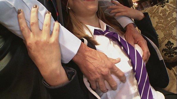 Inspector fucks naughty schoolgirls in a college Thumb