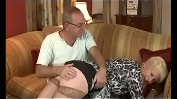 Dad Spanks Moms Best friend then Fucks her. See...
