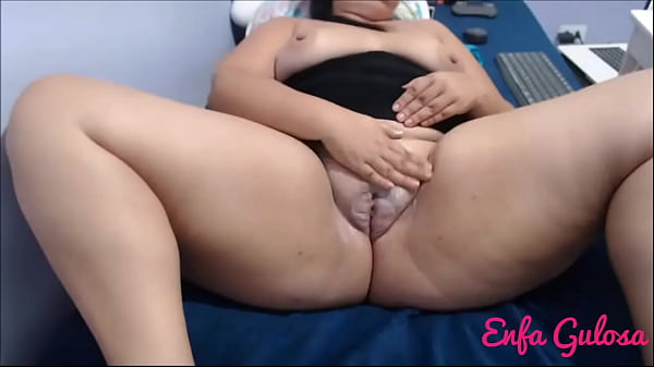 I enjoyed it with my swollen and smooth pussy