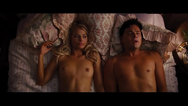 Margot Robbie Fully shaved frontal from The Wolf of Wall Street