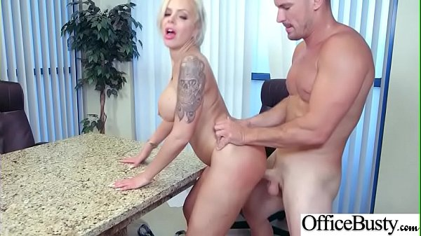 Hardcore Intercorse In Office With Big Round Tits Girl (Nina Elle) mov-22