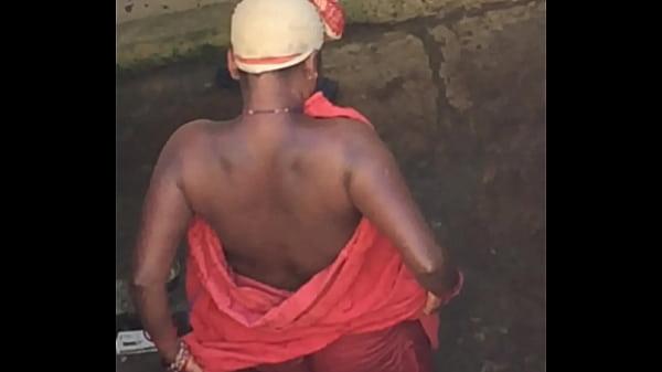 Desi village horny bhabhi boobs caught by hidden cam PART 2 Thumb