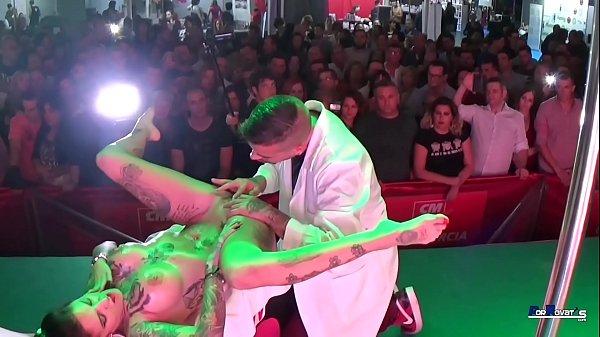 PORNOVATAS.COM REAL PUBLIC SEX SPANISH DOCTOR JOTADE VS SPANISH TATTOO MILF YEMAYA GONZALEZ Thumb