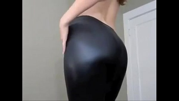 I love to put on my leather leggings and play tease and denial games - MyLustcom
