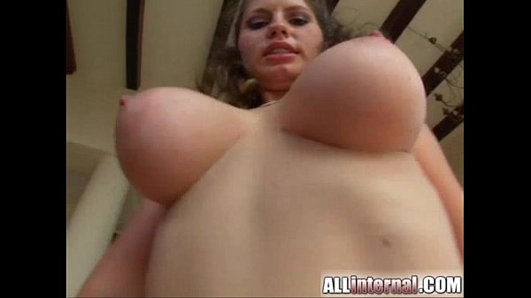 All Internal Busty beauty gets fucked. Load drips from her pussy