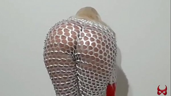 hot blonde in an erotic and sensual dance to stimulate your most intimate desires