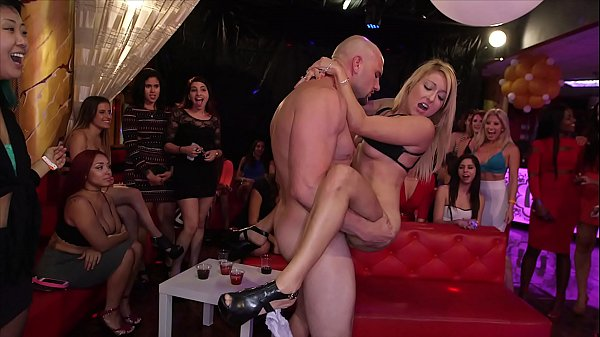 DANCING BEAR - Big Dick Studs Sling Dick In Strip Club During CFNM Party Thumb