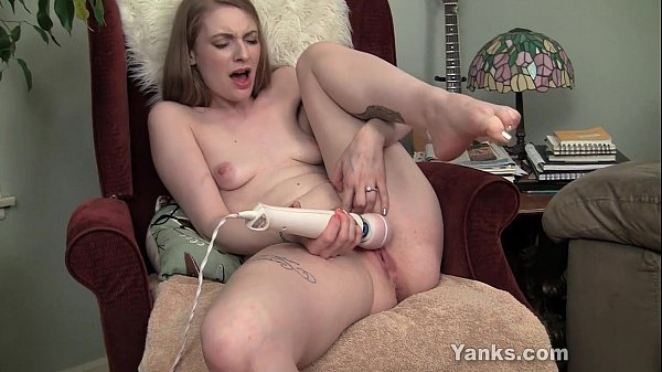 Screaming orgasm from prolonged hitachi wand vibration Thumb