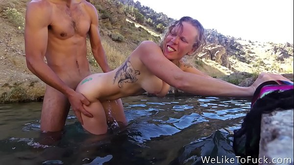 girlfriend loves rough fuck in hot spring Thumb