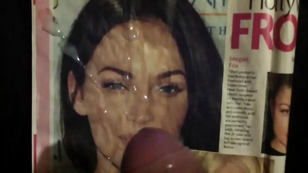 Меган фокс со спермой на лице