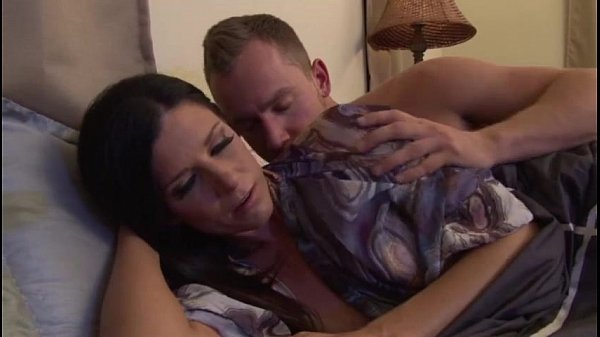Upset m. calmed by stepson – more videos on www.amateurcams.cf