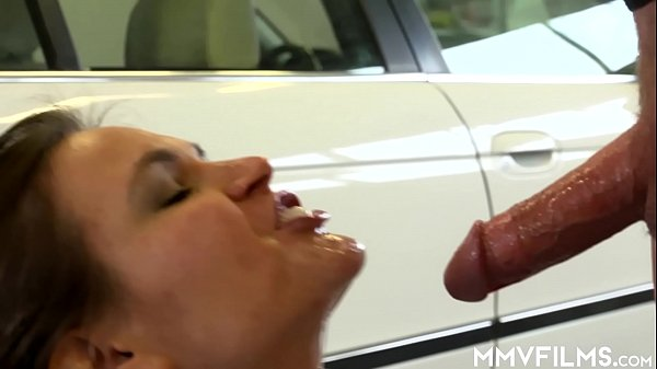 Complaining girl gets compensated with cum