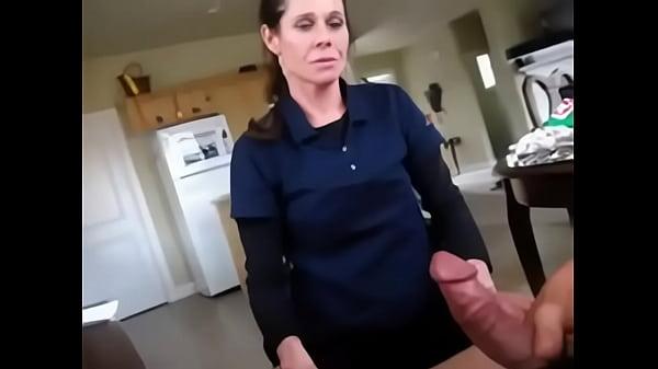 Mom shocked cum