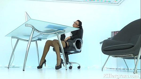 Sexy Milf Jasmine Jae Plays The Office Slut Addicted To Hard Cock
