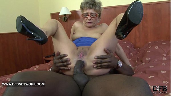 Granny fuck monster cock think
