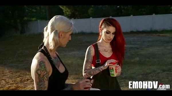 Emo slut with tattoos 0333