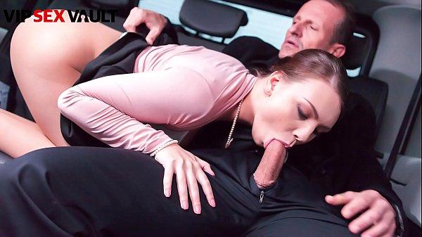 VIP SEX VAULT - #Morgan Rodriguez - Czech Girl Blows Daddy On His Car Thumb