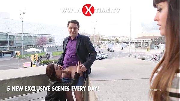 Andrea Diprè e l'inaspettato POMPINO di Rebecca Volpetti! XTIME.TV!! Thumb