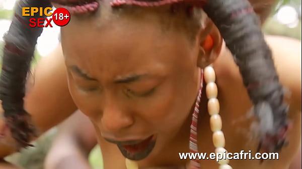 Ebony Outdoors - Innocent Teen Takes Dick in Public (Trailer) Thumb
