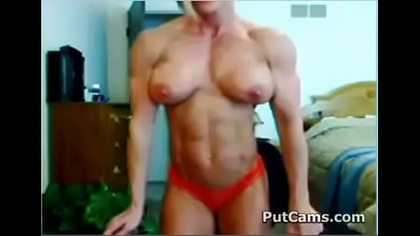 MUST SEE - Muscular big boobs on cam part 1 - Watch the rest at pornZlive.com