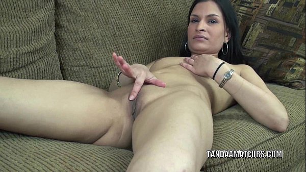 Exotic MILF Naomi Shah is playing with her sweet pussy Thumb